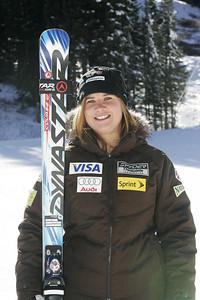 Chelsea Marshall 2009-10 U.S. Alpine Ski Team  Photo © Brian Robb