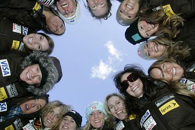 2009-10 U.S. Alpine Ski Team  Photo © Brian Robb