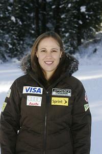 Brandie Yeik 2009-10 U.S. Alpine Ski Team Staff Photo © Brian Robb