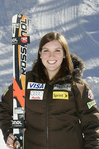 Kiley Staples 2009-10 U.S. Alpine Ski Team  Photo © Brian Robb
