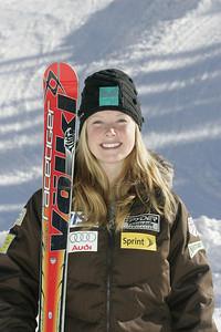 Kaylin Richardson 2009-10 U.S. Alpine Ski Team  Photo © Brian Robb