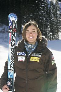 Leanne Smith 2009-10 U.S. Alpine Ski Team  Photo © Brian Robb