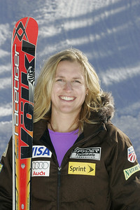 Hailey Duke 2009-10 U.S. Alpine Ski Team  Photo © Brian Robb