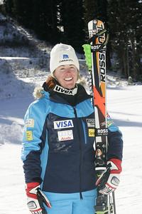 Stacey Cook 2009-10 U.S. Alpine Ski Team  Photo © Brian Robb