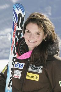 Megan McJames 2009-10 U.S. Alpine Ski Team  Photo © Brian Robb