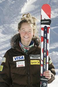 Laurenne Ross 2009-10 U.S. Alpine Ski Team  Photo © Brian Robb