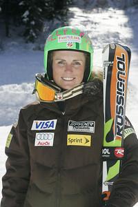 Sarah Schleper 2009-10 U.S. Alpine Ski Team  Photo © Brian Robb