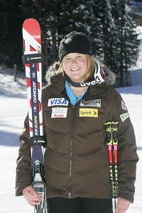 Alice McKennis 2009-10 U.S. Alpine Ski Team  Photo © Brian Robb
