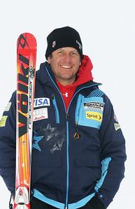 Sasha Rearick  2009-10 U.S. Alpine Ski Team Head Coach Photo © Brian Robb