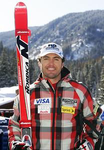 Scott McCartney  2009-10 U.S. Alpine Ski Team  Photo © Brian Robb