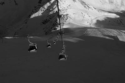The glacierbahn in Soelden, Austria (Kevin Pritchard)