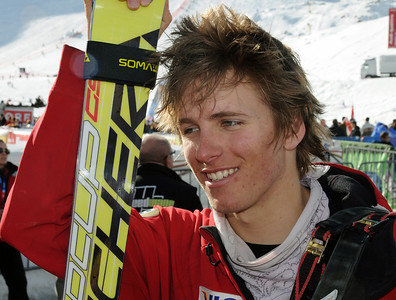 Tommy Ford just missed a second run in his first World Cup start at the Audi FIS World Cup opener in Soelden, Austria. (U.S. Ski Team)