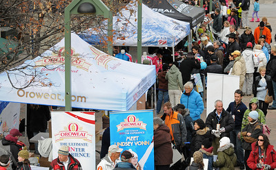 Fans pack the sponsor booths as U.S. Ski Team athletes sign autographs at the Aspen Winternational, the women's only stop in the USA on the Audi FIS World Cup. (U.S. Ski Team/Tom Kelly)