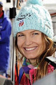 Raceday on the Rettenbach Glacier high above Soelden, Austria. (U.S. Ski Team)