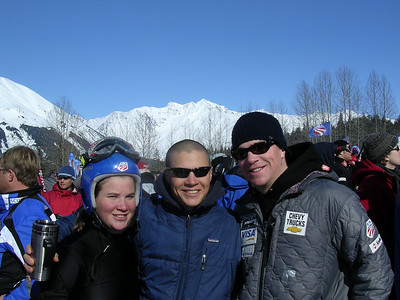 (l-r) Chelsea, Cody and Jesse Marshall at the U.S. Alpine Championships (Marshall Family)
