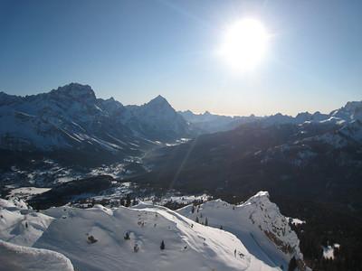 Postcard perfect Cortina (Doug Haney/U.S. Ski Team)