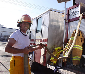 Firefighter training with the SLCFD  Photo: Jay Dyal, Media Specialist, SLCFD