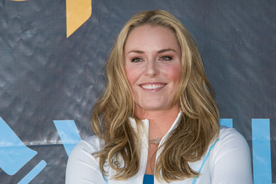 Lindsey Vonn pep rally at Vail, CO on Aug. 21, 2008