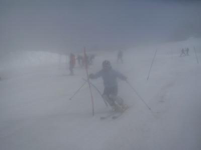 Mary Sackbauer, foggy day at Mt. Hood Photo: T. DelliQuadri