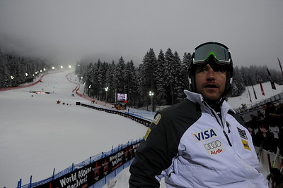 Bode Miller at World Alpine Rockfest, Paganella, Trentino, Italy.