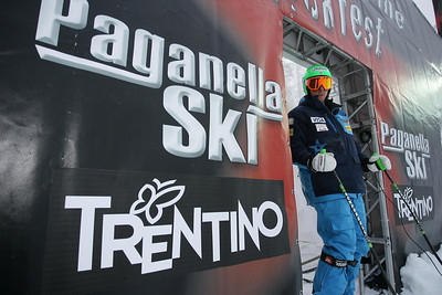 Ted Ligety at World Alpine Rockfest, Paganella, Trentino, Italy.