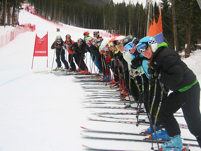 2010 NDS Speed Camp at Beaver Creek Photo: Walt Evans/USSA
