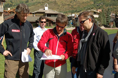 Members of the FIS, EBU and representatives from Beaver Creek/Vail meet in Vail for the Coordination Commision meetings in early Sept. regarding the 2015 FIS Alpine World Ski Championships set for Beaver Creek/Vail. (Vail Valley Foundation)