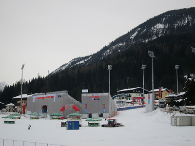Final preparations are made for the night slalom in Flachau (Doug Haney/U.S. Ski Team)