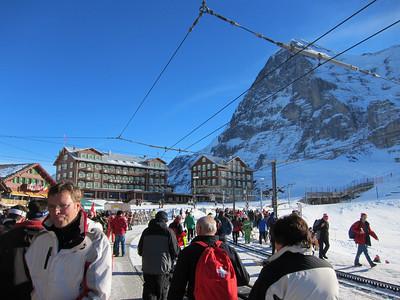 A view of the Eiger from Kleine Sheidegg above Wengen (Doug Haney/U.S. Ski Team)