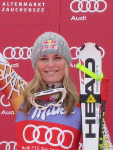 Zauchensee downhill champion Lindsey Vonn (Doug Haney/U.S. Ski Team)