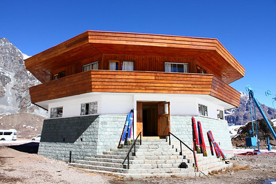 The Octagon, home of the women's alpine team in Portillo, Chile (Laurenne Ross/http://lalalaurenne.wordpress.com/)