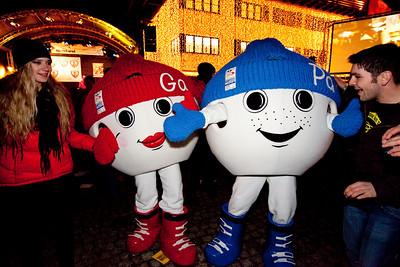 """World Championships mascots """"Ga"""" and """"Pa"""" (OK GAP 2011)"""