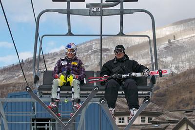 Lindsey Vonn opens training at Vail's Golden Peak (Vail Resorts)