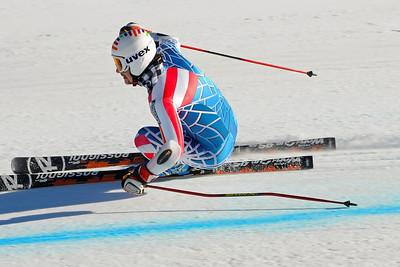 Nolan Kasper of the U.S. Ski Team trains at Vail's Golden Peak. (c) 2010 U.S. Ski Team/Tom Kelly