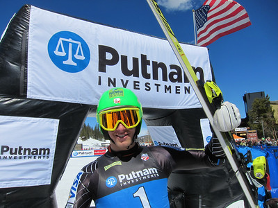 Tommy Ford take U.S. title No. 5 with the super G win in Winter Park (Doug Haney/U.S. Ski Team)