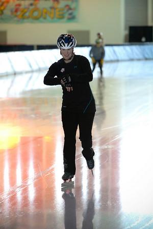 2010 Women's Alpine Speed Team Cross Training - Olympic Oval