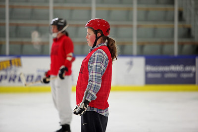 2011 Women's Alpine Hockey Camp Photo: Sarah Ely/U.S. Ski Team