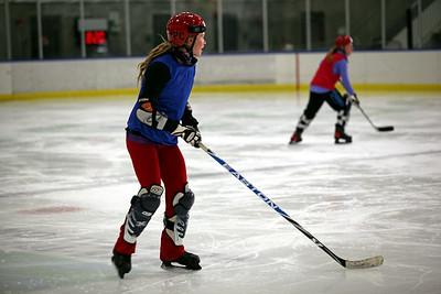 2011 Women's Alpine Hockey Camp Photo: Sarah Ely/U.S. Ski Team