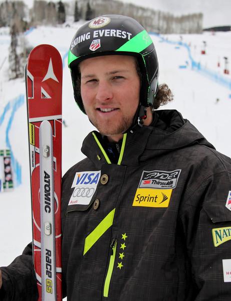 2011-12 U.S. Alpine Ski Team Wiley Maple Photo: Eric Schramm