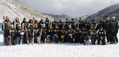 2011-12 Men's U.S. Alpine Ski Team Photo: Eric Schramm