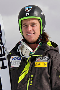 2011-12 U.S. Alpine Ski Team Jared Goldberg Photo: Eric Schramm
