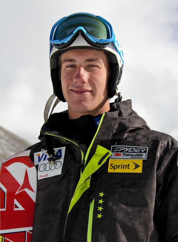 2011-12 U.S. Alpine Ski Team Bryce Bennett Photo: Eric Schramm