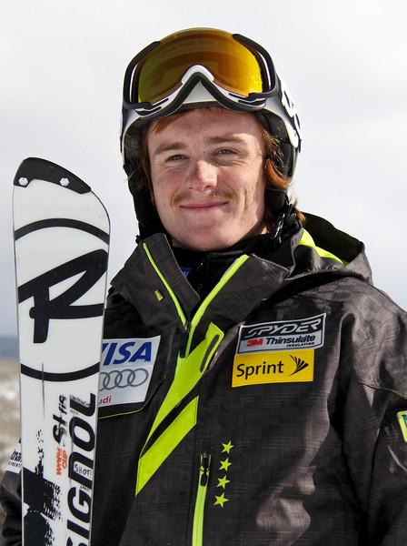 2011-12 U.S. Alpine Ski Team Kieffer Christianson Photo: Eric Schramm