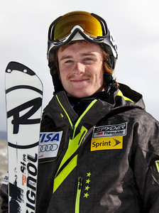 2011-12 U.S. Alpine Ski Team Kieffer Christianson Photo: Eric Schramm