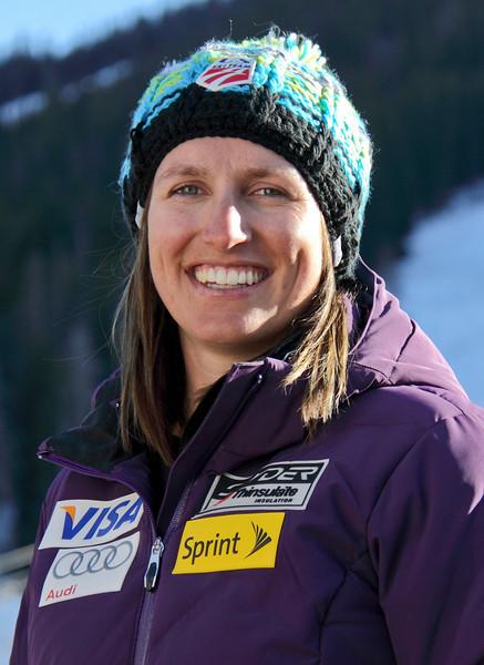 2011-12 U.S. Alpine Ski Team Hailey Duke Photo: Eric Schramm