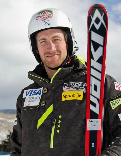 2011-12 U.S. Alpine Ski Team Jimmy Cochran Photo: Eric Schramm