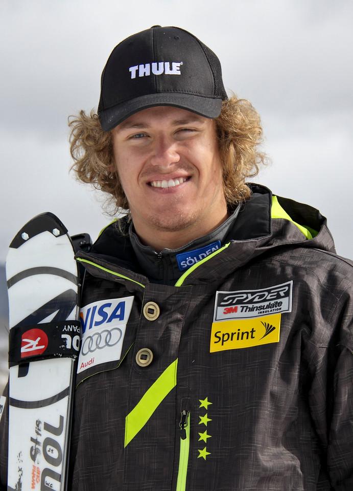 2011-12 U.S. Alpine Ski Team Will Gregorak Photo: Eric Schramm