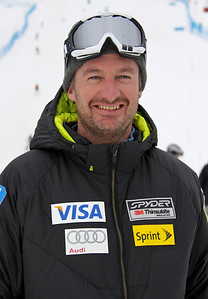 2011-12 U.S. Alpine Ski Team Forest Carey, Men's Speed Head Coach Photo: Eric Schramm