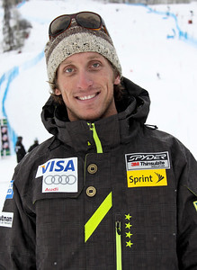2011-12 U.S. Alpine Ski Team Adam Perrault, Mens Alpine Team, Med, ATC Photo: Eric Schramm