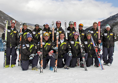 2011-12 U.S. Alpine Ski Team Photo: Eric Schramm